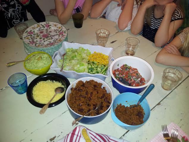 Tacos på Alas vis :-) Recept kommer snart.