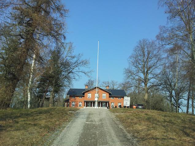 Sörby herrgård utanför Arboga, väldigt fridfullt.