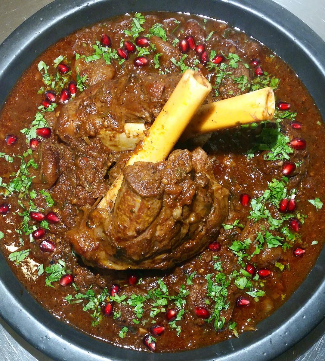 Långkok: Lammlägg med smak av orienten och indien (4 personer/ 3 timmar)