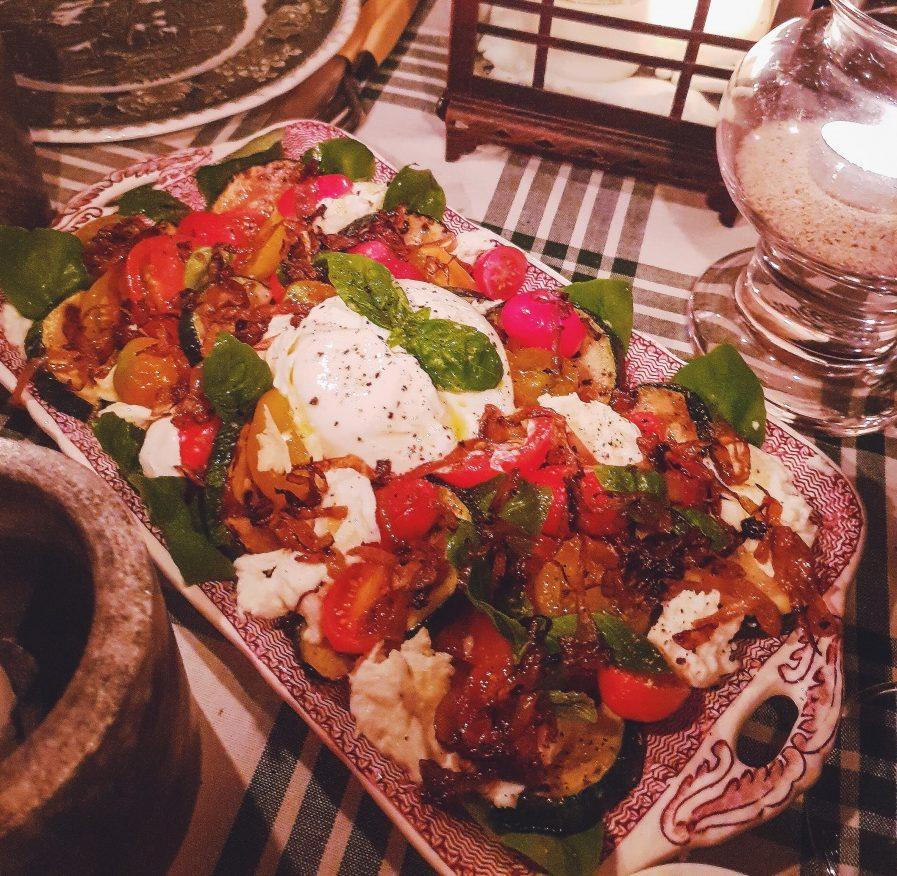 Insalata Caprese på Alas vis 4-6 portioner/20 min