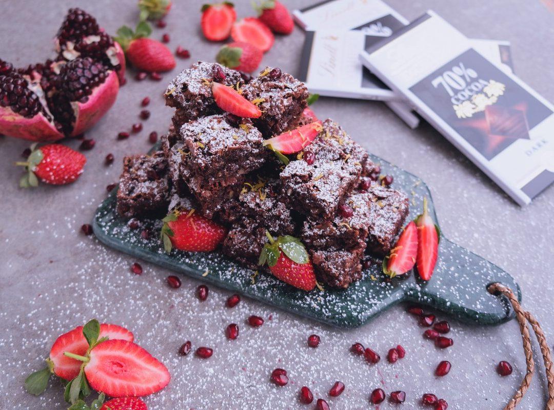 Choklad & Nötruta (glutenfritt), ca. 30 kakor