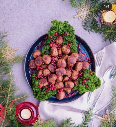 Julköttbullar med kryddpeppar